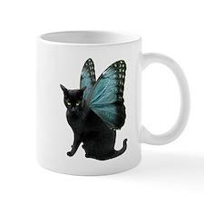 Butterfly Cat Small Mugs