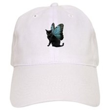 Butterfly Cat Baseball Cap