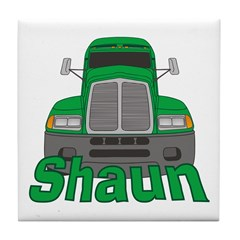 Trucker Shaun Tile Coaster