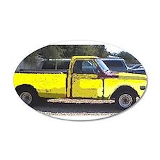 1969 Chevy Pickup 2004-09-29 yellow.JPG 22x14 Oval