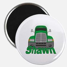 Trucker Shawn Magnet