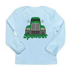 Trucker Spencer Long Sleeve Infant T-Shirt