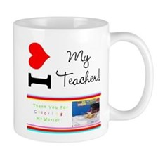 I love my teacher Mug