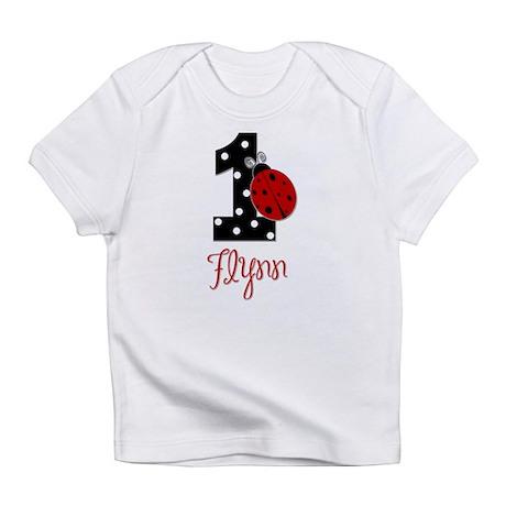 FLYNN 1st Birthday Ladybug Infant T-Shirt