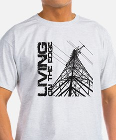 transmission tower edge 1 T-Shirt