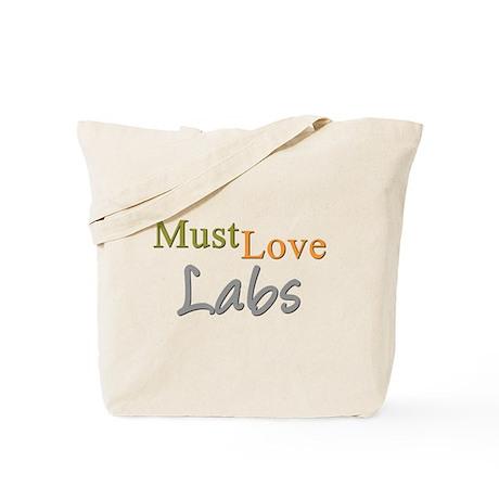 MUST LOVE Labs Tote Bag
