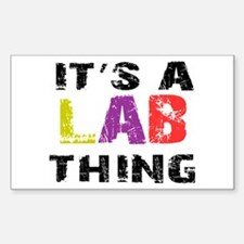Lab THING Decal
