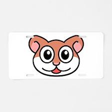 Hamster Aluminum License Plate