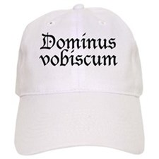 dominus_vobiscum.png Baseball Baseball Cap