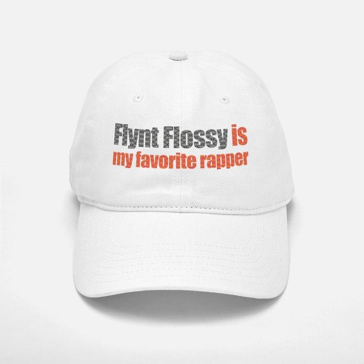 flynt_flossy_black_pint_print.png Baseball Baseball Cap