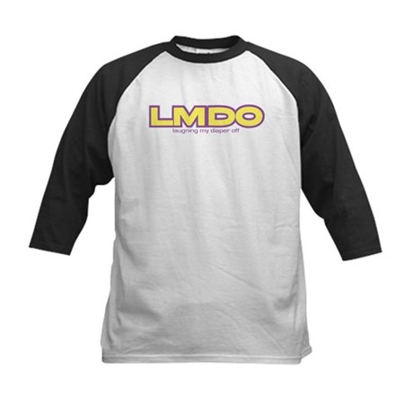 LMDO Laughing my diaper off Kids Baseball Jersey