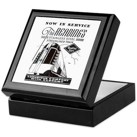 Reading Crusader Streamliner Keepsake Box