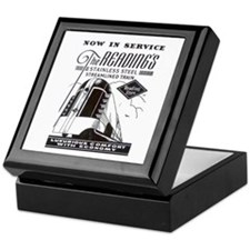 Reading Crusader Streamliner Keepsake Box