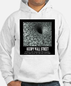 Occupy Wall Street Poster Hoodie