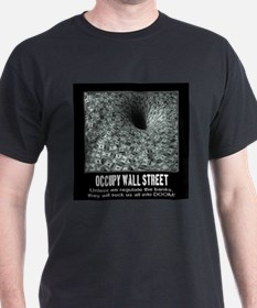 Occupy Wall Street Poster T-Shirt