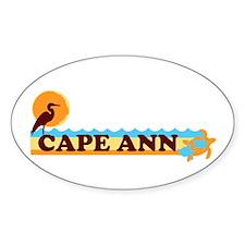 Cape Ann - Beach Design. Decal