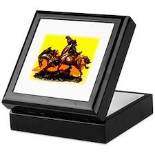 Wild stallions Keepsake Box