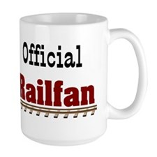 Official Railfan Mug