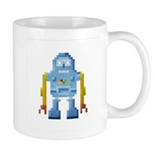Blue Robot Mug