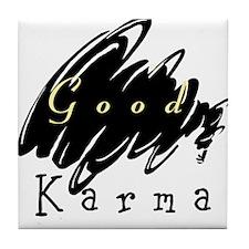 Good Karma Tile Coaster