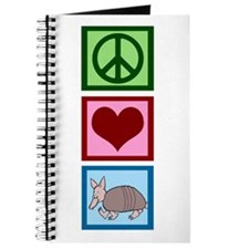 Peace Love Armadillos Journal