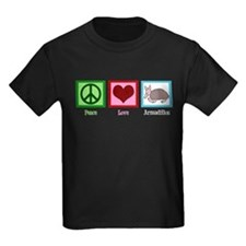 Peace Love Armadillos T