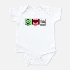 Peace Love Armadillos Infant Bodysuit