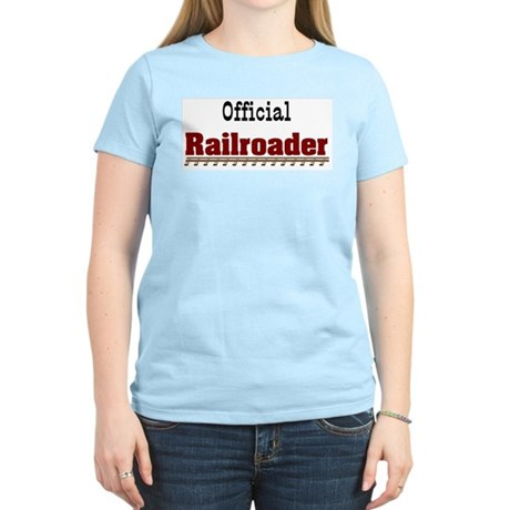 Official Railroader Women's Light T-Shirt