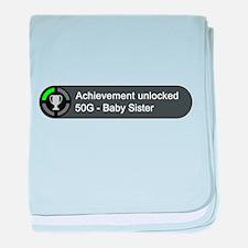 Baby Sister (Achievement) baby blanket