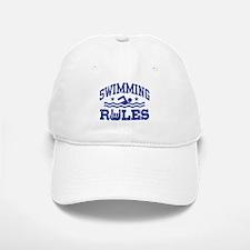 Swimming Rules Baseball Baseball Cap