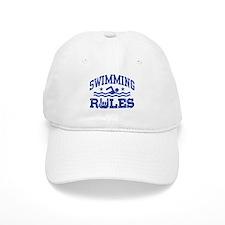Swimming Rules Baseball Cap