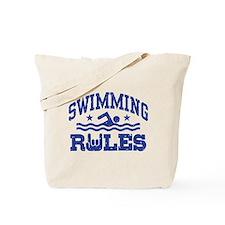 Swimming Rules Tote Bag