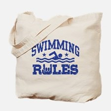 Swimming Rules Tote Bag