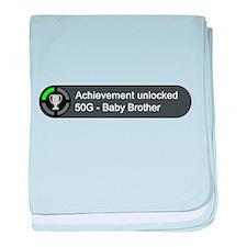 Baby Brother (Achievement) baby blanket