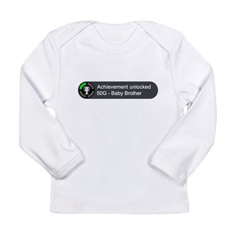 Baby Brother (Achievement) Long Sleeve Infant T-Sh