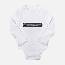 Baby Brother (Achievement) Long Sleeve Infant Body