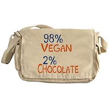 98% Vegan Messenger Bag