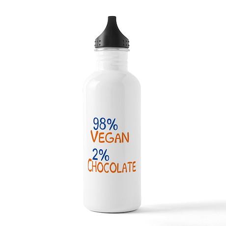 98% Vegan Stainless Water Bottle 1.0L