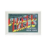 Finger Lakes New York Rectangle Magnet (10 pack)