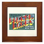 Finger Lakes New York Framed Tile