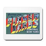Finger Lakes New York Mousepad
