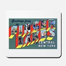 Finger Lakes New York Mousepad