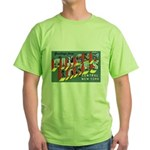 Finger Lakes New York Green T-Shirt