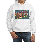 Finger Lakes New York Hooded Sweatshirt