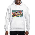 Finger Lakes New York (Front) Hooded Sweatshirt