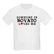 Novato: Loves Me Kids T-Shirt