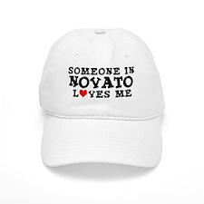 Novato: Loves Me Baseball Cap