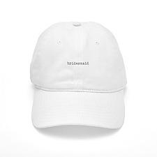 bridesmaid dark gray Baseball Cap