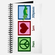 Peace Love Alligators Journal