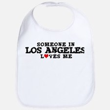 Los Angeles: Loves Me Bib